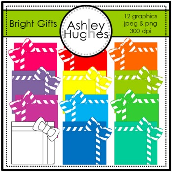 Bright Gifts {Graphics for Commercial Use}