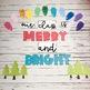 Bright Holiday Bulletin Board or Door Kit