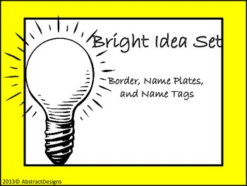 Bright Idea Set