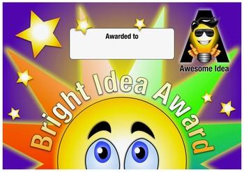 Bright Idea Student Awards