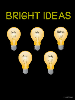 Bright Ideas: An Exit Slip Bulletin Board
