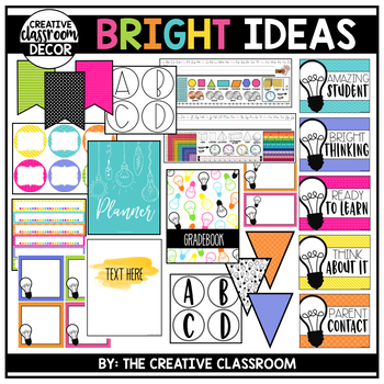 Bright Ideas Classroom Decor Bundle