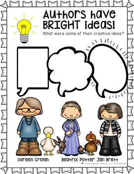 Bright Ideas- Creative Writing Inspired by Famous Authors