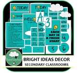 Bright Ideas Décor Set for Secondary Classrooms x110+ page