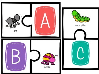 Bright Initial Sounds Puzzles