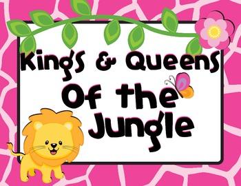 Bright Jungle Theme Behavior Clip Chart