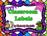 Bright Kids Classroom Labels