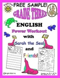 Bright Kids Grade 3 Word Power Workout - FREE SAMPLE!