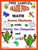Bright Kids Grade 4 Math Power Workout - FREE SAMPLE!