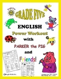 Bright Kids Grade Five English Power Workout - Save Time!