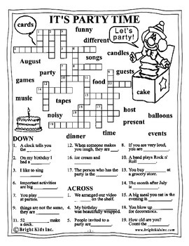 Bright Kids Grade 4 English Word Power Workout - Save Time! Just Print & Teach!
