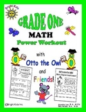 Bright Kids Grade 1 Math Power Workout - Save Time! Just P
