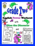Bright Kids Grade 2 English Word Power Workout - Save Time