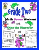 Bright Kids Grade 2 Math Power Workout - Save Time! Just Print & Teach!