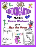 Bright Kids Kindergarten Math Power Workout - Save Time! Just Print & Teach!