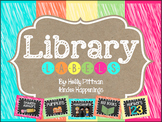 BRIGHT Library Labels