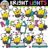 Bright Lights Clipart {Lightbulb Clipart}