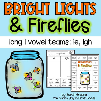 Bright Lights & Fireflies {long i: ie, igh craft & activity pack!}
