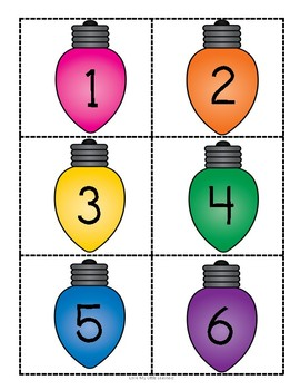 Bright Lights Number Sequence