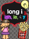 Long i - igh, ie & y