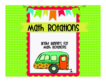 Bright Math Rotation Signs