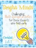 Bright Minds Math Challenges