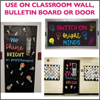 Bright Minds STEM Door / Bulletin Board Kit