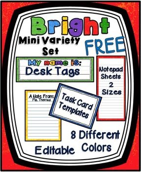 Bright Mini Variety Set