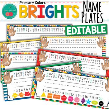 Bright Name Plates