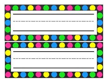 Bright Nameplates