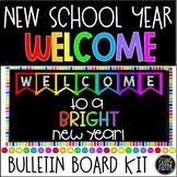 Bright New Year Bulletin Board | Welcome Bulletin Board |