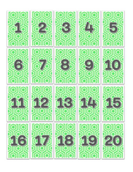 Bright Number Labels