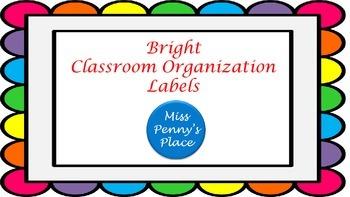Bright Organization Labels