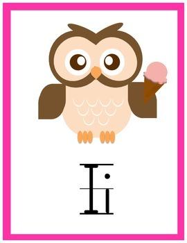 Bright Owl ABCs