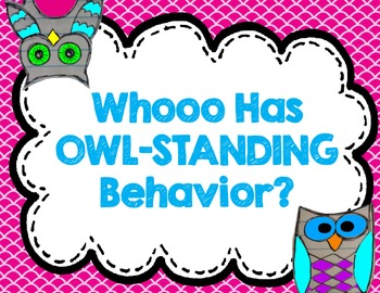 Bright Owl Behavior Clipchart