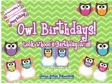 Bright Owl Birthdays!