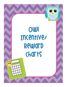 Bright Owl Incentive/Reward Chart
