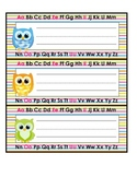 Bright Owl Name Plates and Tags