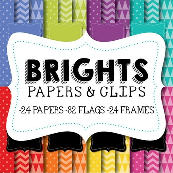 Bright Papers & Clipart