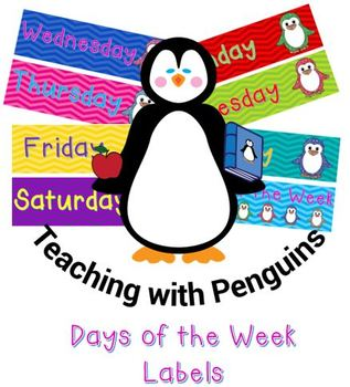 Bright Penguins Days of the Week #AUSBTS18