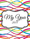 Bright Personal Calendar / Organizer 2015