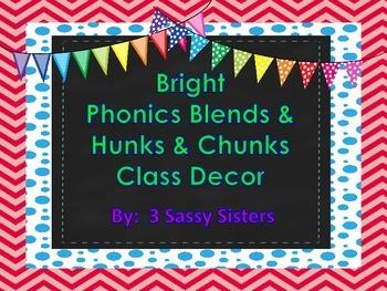 Bright Phonics Hunks, Chunks, and Blends