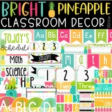 Bright Pineapple Classroom Decor Bundle