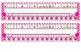 Bright Pink Polka Dot Desk Reference Nameplates