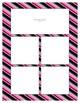 Bright Pink Sorting Mat Frames * Create Your Own Dream Classroom / Daycare *