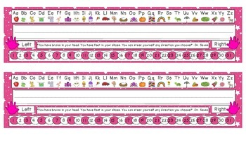 Bright Pink Starry Skies Desk Reference Nameplates