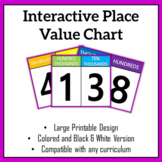 Bright Place Value Chart (Interactive)