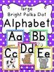 Bright Polka Dot Alphabet Bundle