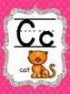 Bright Polka Dot Alphabet Cards or Posters