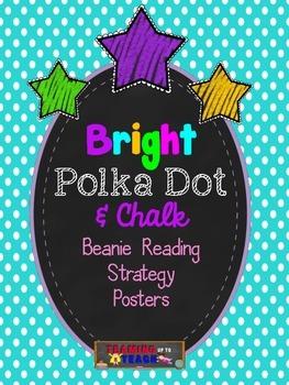 Bright Polka Dot & Chalk Beanie Decoding/Comprehension Str